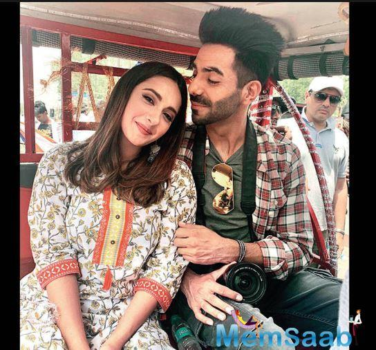 Aparshakti Khurana who was last seen on screen in the Kartik Aaryan-Kriti Sanon romcom, 'Luka Chuppi', has now been paired with Alia Bhatt's bestie, Akansha Ranjan Kapoor, who is making her acting debut.