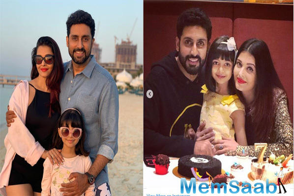 Meanwhile, on the professional front, Abhishek will be seen in Anurag Basu's next film, whereas Aishwarya has Mani Ratnam's historical drama in her kitty.