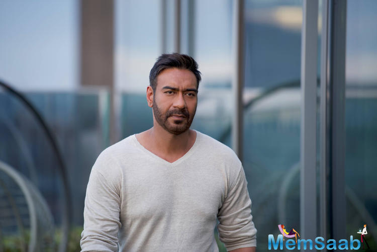 Devgn said the shooting of period action drama