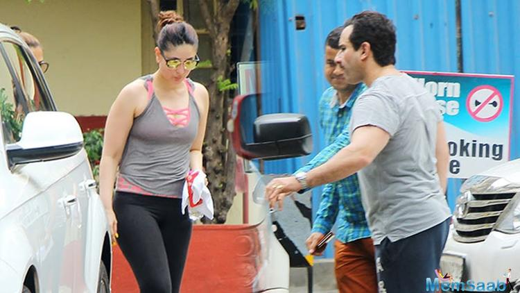 Kareena, who lost all the extra kilos that she gained during pregnancy in a year's time, spoke about the hard work that went into her body.