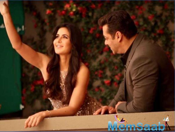 Katrina Kaif and Salman Khan often share pictures from promotional events on social media.