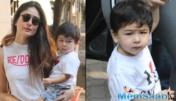 Taimur eats khichdi almost every day at home, and sometimes idli and dosa.