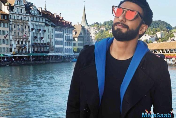 When it comes to his roles, Ranveer Singh is known for putting his best foot forward.