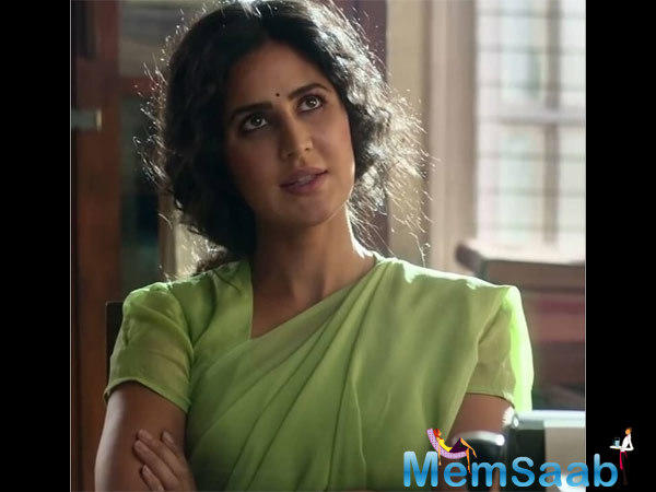 As we saw in the trailer, Katrina Kaif has gone all desi for her character in the film. Post Zero, the audience is having a lot of expectations from her.