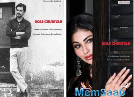 Nawazuddin Siddiqui is all set to play a passionate lover in director Shamas Nawab Siddiqui's feature debut film 'Bole Chudiyan' which will also star actress Mouni Roy in the lead role.