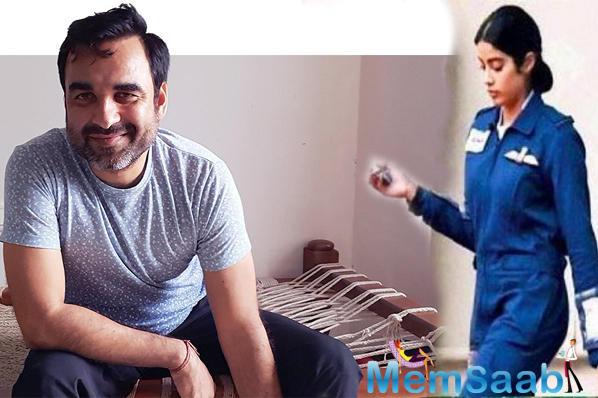 Janhvi Kapoor's second film is a biopic based on IAF officer Gunjan Saxena.