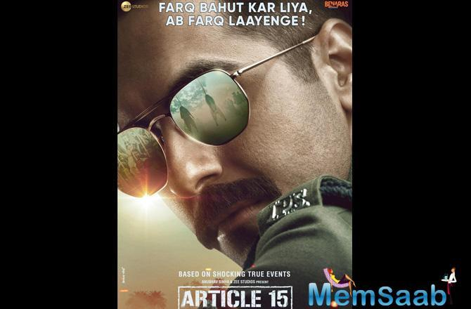 The much-anticipated film Article 15 starring Ayushmann Khurrana in the lead is all set to release in June. To give an added dose of the investigative drama, the makers will release the teaser of the film today.