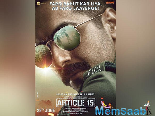 After giving back-to-back hits with Andhadhun and Badhaai Ho in 2018, Ayushmann Khurrana is back with his next film titled 'Article 15'.