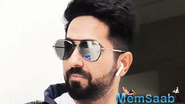 Ayushmann Khurrana is a busy bee these days. The actor has enough of films in his kitty and is juggling between the projects to complete them one by one.