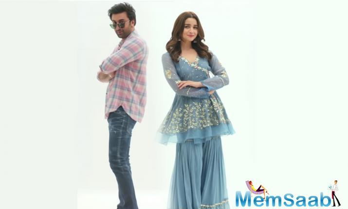 In the video, Ranbir and Alia show the latest fashion collections. But there's one particular bit that is adorable wherein Alia happily admits that she knows everything about her beau.