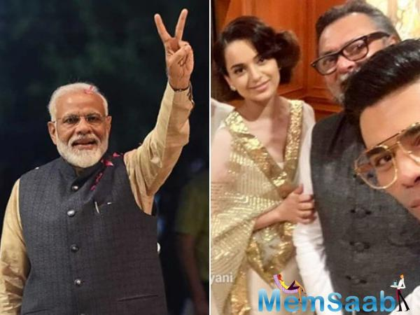 Celebs who witnessed the oath-taking ceremony of PM Modi