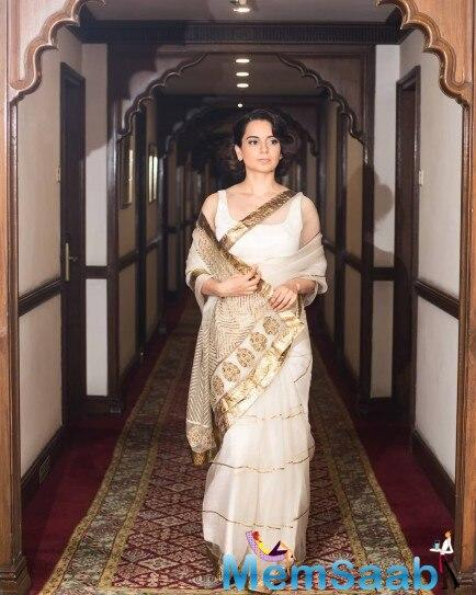 Kangana Ranaut sure knows how to carry her outfits confidently. The Manikarnika actress has a chic style sense and looks good in everything she wears.