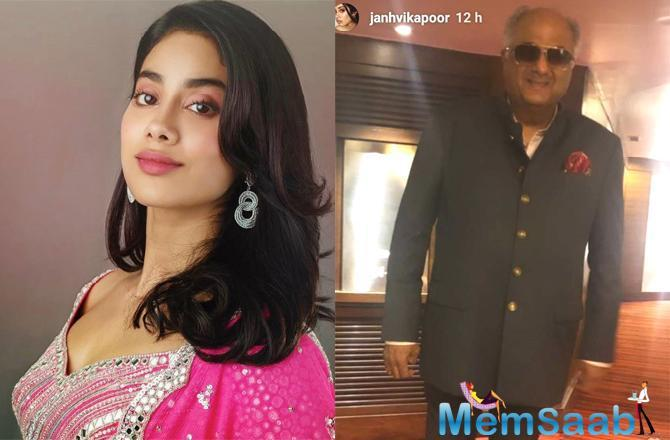 Janhvi Kapoor's father Boney Kapoor too attended the ceremony, but what has grabbed a lot of eyeballs is Boney Kapoor's transformation.