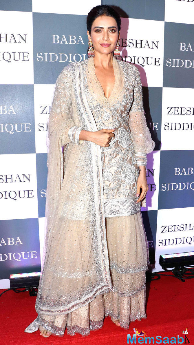 From Shah Rukh Khan to Salman Khan, a number of the who's who of Bollywood and the television industry were in attendance at the party. Here's taking a look at what the ladies wore to the event.