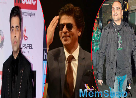 Shah Rukh Khan, an outsider who took over the world via Bollywood, took time to thank the two people from the fraternity who have been the most supportive of his career.