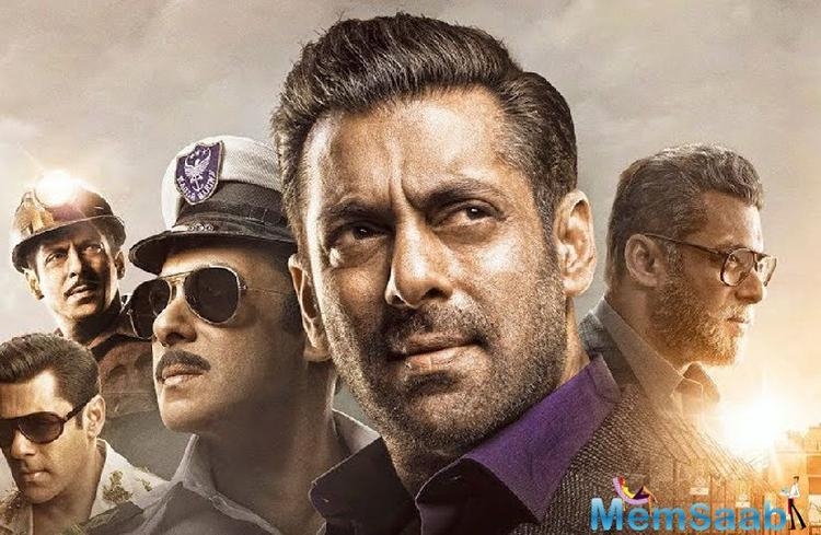 Salman Khan is seen sporting five different looks in the film spanning 60 years, including a crucial part which will showcase the actor in his late 20s, looking much leaner and younger.