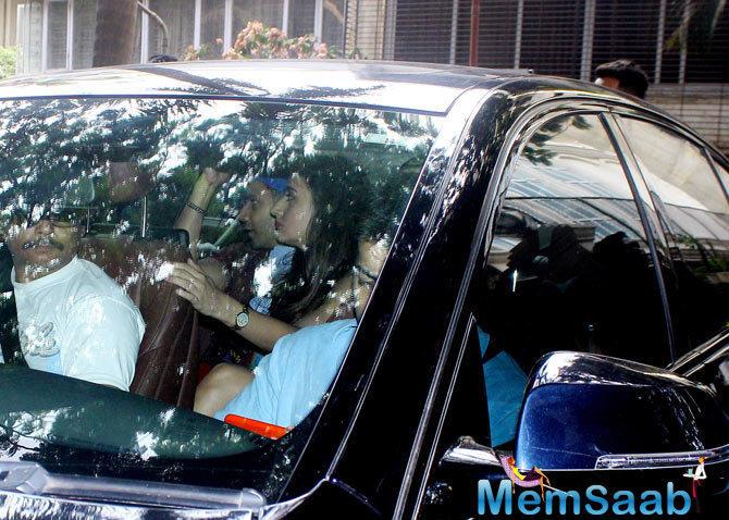 Varun Dhawan and Natasha Dalal were spotted together at Sonam Kapoor's 43th birthday brunch