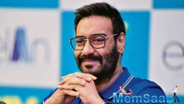 With Ajay Devgn's latest release De De Payar De getting a good response at the box office, the 50-year-old actor belives in staying healthy by all means.