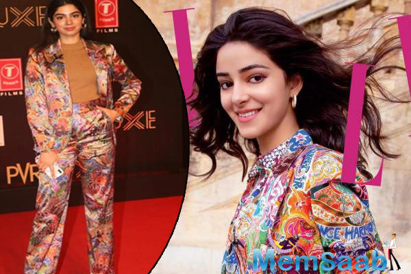 Now, at the film premiere of the much-awaited Salman Khan's Bharat, Khushi Kapoor who is also considered as a budding fashionista, sported the same pantsuit from the capsule collection.