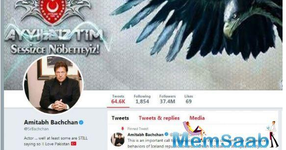 Senior Bachchan's Twitter account was reportedly hacked in 2015. The