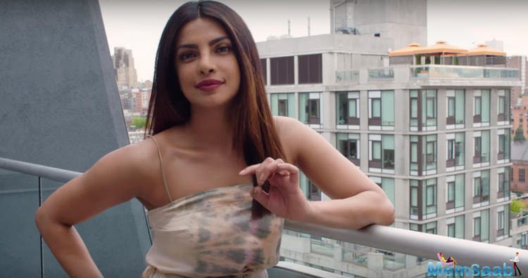 Priyanka Chopra is back in Mumbai and will be seen promoting her upcoming film, The Sky is Pink amid other work commitments.