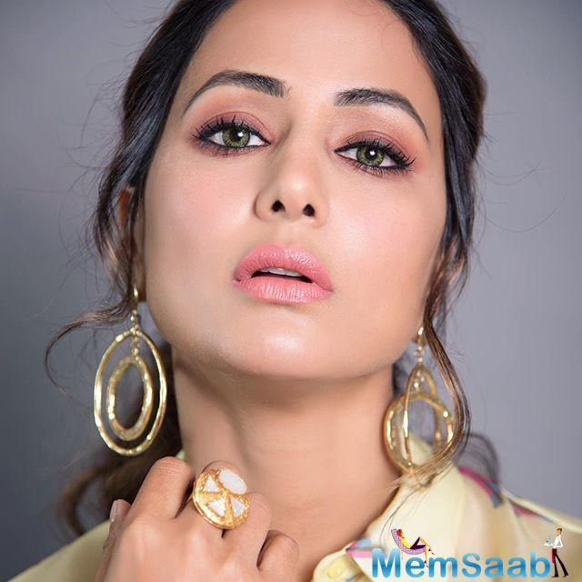Hina also made her debut at the Cannes Film Festival this year where the posters of her movie Lines were launched for the first time.