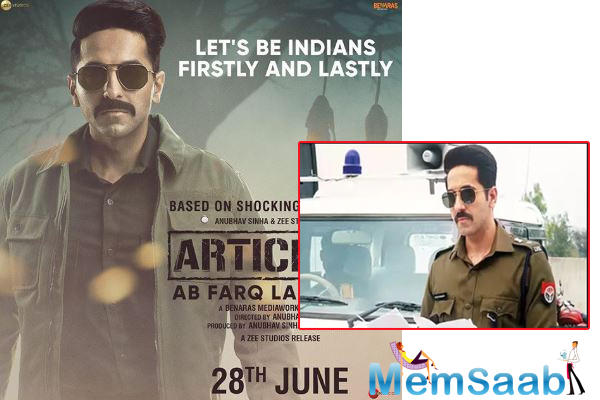 After acing multifaceted roles in Bollywood, Ayushmann Khurrana will essay the role of a cop for the first time in his upcoming film Article 15.