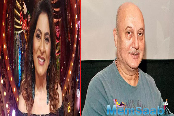 On the show, Archana asked Anupam if he feared to kiss her considering he was married to Kirron Kher?