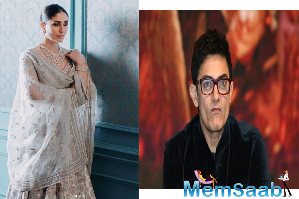 """As per the report, """"The chemistry between the characters must be effortless. Aamir wants Kareena to play the part. She is in London till August, shooting for Angrezi Medium."""
