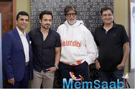 The makers of Amitabh Bachchan and Emraan Hashmi starrer mystery-thriller Chehre have wrapped up the shoot 4 days before the planned schedule