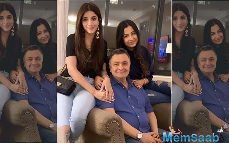 Many family, friends and celebrities from across the film fraternity and business world have been there for Rishi Kapoor to keep him happy and entertained.
