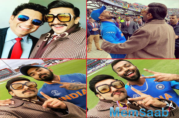 Interestingly, a video clips of Ranveer hugging Virat, immediately after India won the match, went viral on the social media and fans just could not get over it.