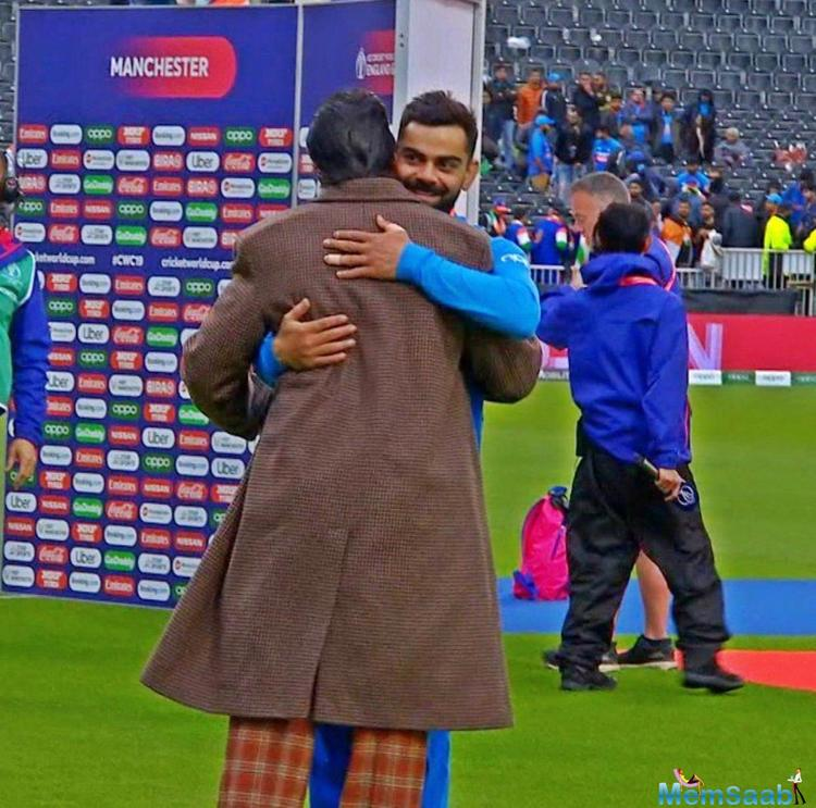 Ranveer Singh turned out to be the special attention of the match and also Saif Ali Khan, Shibani Dandekar and Alaia F who cheered the team from the audience.