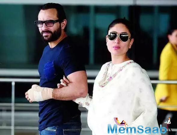 Ever since Saif Ali Khan and Kareena Kapoor were spotted in London shooting for their films Jawaani Jaaneman and Angrezi Medium respectively, rumours have sprung up that Bebo could have a cameo in her husband's latest film.