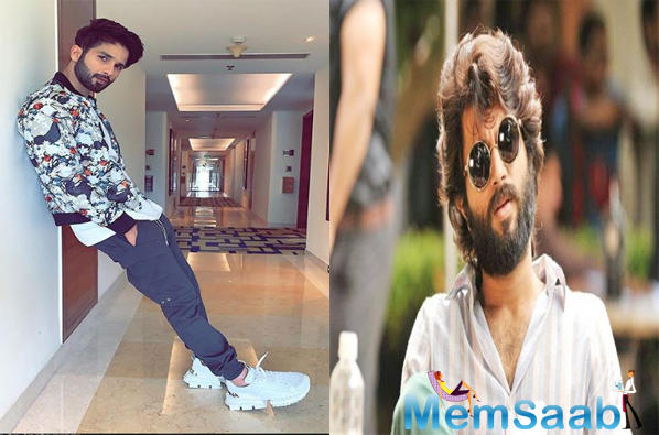 Talking about his love for Arjun Reddy and why he signed the Hindi remake, the actor says, It's an exciting movie to be a part of, especially since I fell in love with Arjun Reddy after watching it.