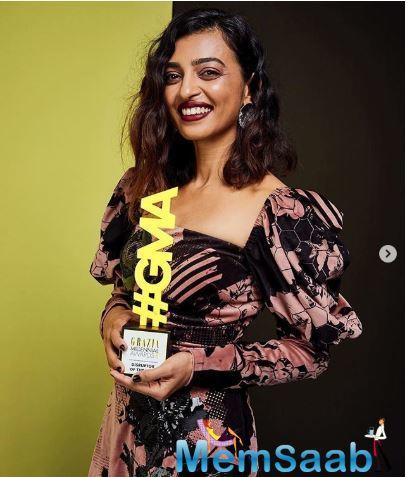 Radhika's two movies Andhadhun and Padman are on the top rated Bollywood movies list and her