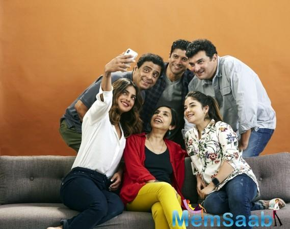 The Sky is Pink is directed by Shonali Bose and co-produced by Siddharth Roy Kapur.