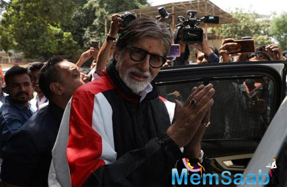 Amitabh Bachchan began shooting for the film on Tuesday. He had tweeted on June 18,