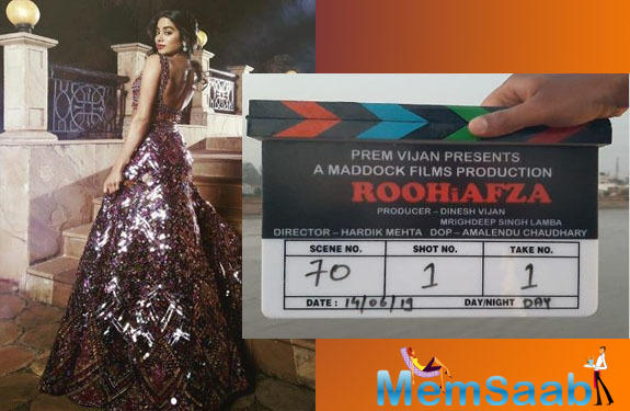 Recently, when Janhvi Kapoor had made an appearance on an awards show, she opened up about RoohiAfza but she said that since she is superstitious, she doesn't like to talk much about a film.