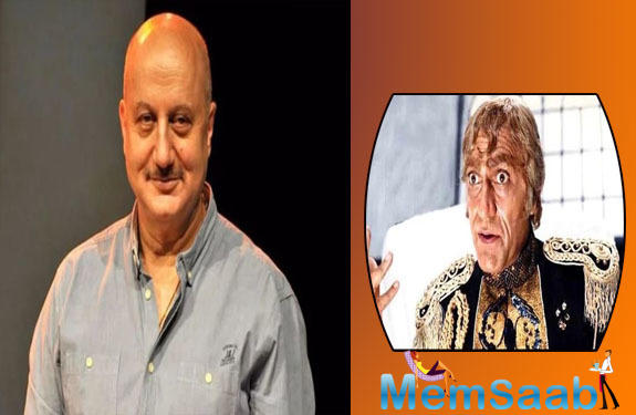 Anupam Kher says he was the first choice to play the role of Mogambo in Shekhar Kapur's 1987 directorial