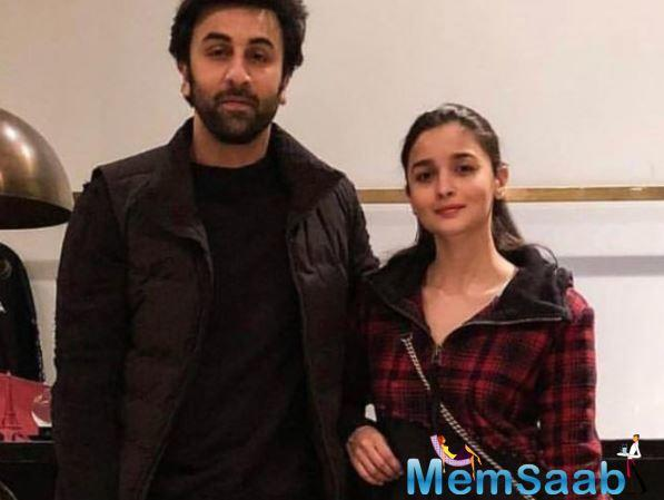 Brahmastra couple Ranbir Kapoor and Alia Bhatt are currently in New York to spend quality time with Kapoor's family.
