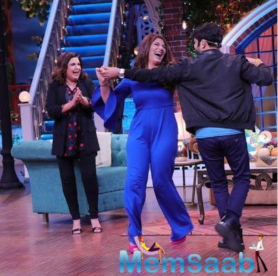 Often, during the show, Krushna Abhishek mocks at Archana for taking over somebody else's seat but Archana wins our hearts with her humour and laughs off all the jokes in good spirit.