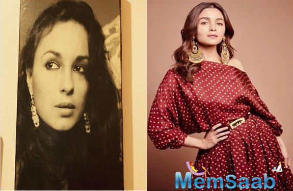 Alia Bhatt who is already the talk of the town for several reasons is now hitting headlines as fans of the star are amazed by the fact how she is a replica of her mother.