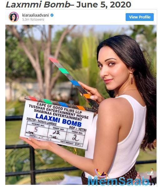 Laxmmi Bomb is an official remake of 2011's Tamil film Muni 2: Kanchana.