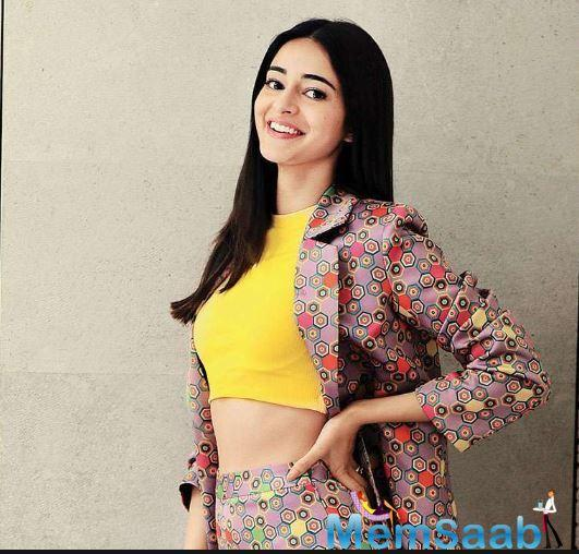 Ananya is already amidst shooting her second film, Pati Patni Aur Woh alongside Kartik Aaryan and Bhumi Pednekar.