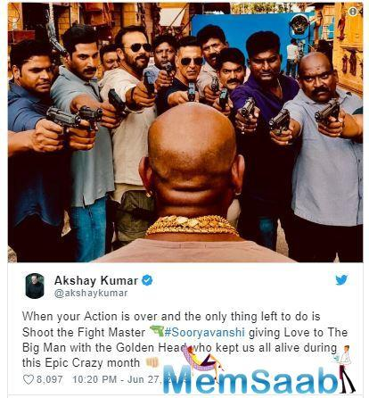 The film is a part of Rohit Shetty's cop universe after 'Singham' and 'Simmba'.