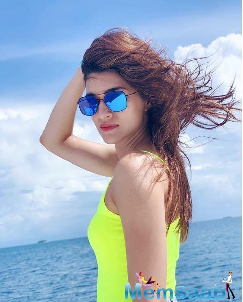 Kriti Sanon who tasted success with Barely Ki Barfi and Luka Chuppi will now be seen in yet another comedy Arjun Patiala.