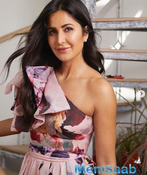Katrina Kaif is riding high on the success of her latest outing 'Bharat'.