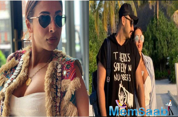 Malaika Arora and Arjun Kapoor are living it up in New York. They went there to celebrate Arjun Kapoor's birthday and also bond with some family members.