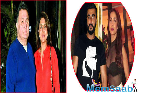 Rishi Kapoor, who has been in New York for months now, seeking treatment for an unknown health condition, has been visited by a slew of B-Town celebrities. Joining the bandwagon are Malaika Arora and Arjun Kapoor.